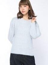 フェザーヤーンボリューム袖プルオーバー
