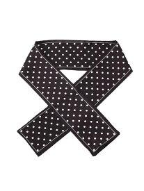 OZOC ナロースカーフ オゾック ファッショングッズ スカーフ/バンダナ ブラック グリーン ブラウン ベージュ