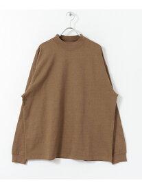 SENSE OF PLACE 【別注】GoodwearモックネックTシャツ センス オブ プレイス カットソー【送料無料】