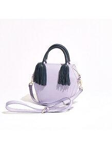 【インスタグラマー着用】Olivia/シープタッセルボックス型バッグ