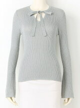 BOW TIE KNIT TOPS