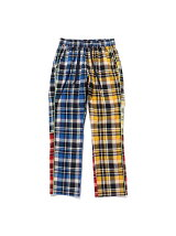 (M)Multi Check Eazy Pants