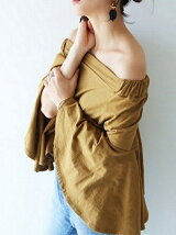 Offshoulder Flare Tops