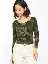 ANAP迷彩ロングTシャツ