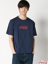 【SALE/30%OFF】SPENDY'S Store 〈Coca-Cola〉Tシャツ スペンディーズストア カットソー Tシャツ ネイビー ブラック ホワイト レッド