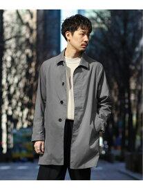 EDIFICE Light weight Soutien coat エディフィス コート/ジャケット ステンカラーコート グレー ネイビー ベージュ【送料無料】