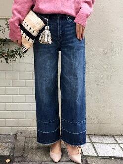 路加福音勒布朗褲子 / 牛仔褲,牛仔寬褲,Le.Coeur 布蘭科