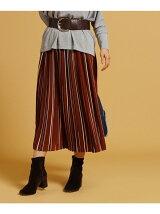 レジメンタルストライプスカート
