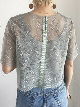 Sheer Lace Tops