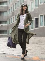 ラップロングシャツジャケット