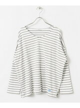 ORCIVAL 別注40/2STRIPE V NECK T-SHIRTS