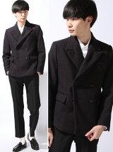 Double-Breasted Jacket(Bonding Tweed)