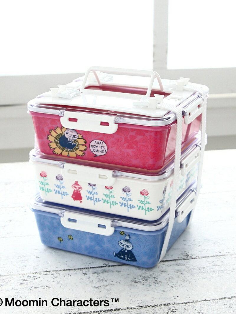 Moomin×Afternoon Tea/角型3段コンパクトランチボックス アフタヌーンティー・リビング 生活雑貨【送料無料】