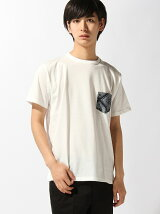 BROWNY STANDARD/(M)ポケット切替クルーTシャツ