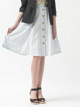 Oサキゾメストライプスカート