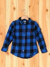 (K)シャギーネルチェックシャツ