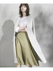 【SALE/70%OFF】CLEAR IMPRESSION ポリエステルツイルタックフレアースカート クリアインプレッション スカート フレアスカート グリーン ブラック ブラウン