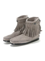 MINNETONKA/(L)HI TOP BACK ZIP BOOT 291T