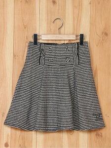 【SALE/50%OFF】LOVETOXIC CHフリルボタンフレアSKP ナルミヤオンライン スカート キッズスカート ブラック ベージュ
