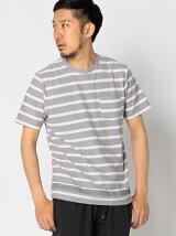 ビーミング by ビームス / アムゼンボーダー クルーネック Tシャツ BEAMS ビームス