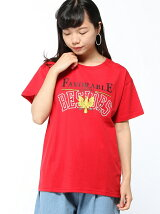 【BROWNY】(L)エンブレムプリントTシャツ