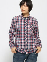 (W)W's QD Check L/S Shirt