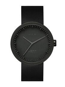 LEFF/チューブウォッチ【腕時計】 D42 ブラック×ブラック