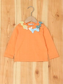 【SALE/50%OFF】FORTYONE FORTYONE/(K)カラフルリボンTシャツ フォーティワン カットソー キッズカットソー オレンジ ネイビー ホワイト