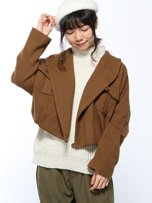 ツィード ショートジャケット