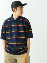 FRED PERRY × BEAMS / 別注 ボーダー ポロシャツ
