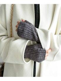 IENA 【Johnstons/ジョンストンズ】カシミアリブリストウォーマー◆ イエナ ファッショングッズ 手袋 グレー【送料無料】