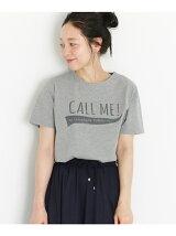 CALL ME プリントシャツ