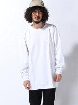 CHAMPION × BEAMS / 別注 ルーズフィット ロングTシャツ Begin掲載