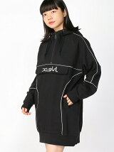 SWEAT ANORAK DRESS