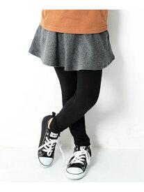 devirock 子供服 キッズ 10分丈 スカッツ 無地 ボトムス スカート 韓国子供服 女の子 デビロック スカート フレアスカート パープル ブルー カーキ ネイビー ブラック グレー