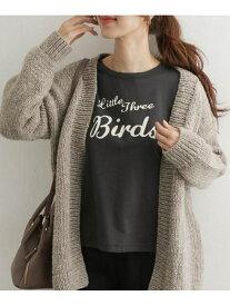 DOORS BIRDSプリントTシャツ アーバンリサーチドアーズ カットソー Tシャツ ブラック ホワイト【送料無料】