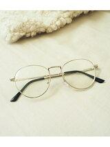 Silver Frame Glasses
