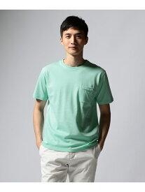 【SALE/50%OFF】23区 Palecolor Tシャツ ニジュウサンク オム カットソー Tシャツ グリーン ホワイト ピンク ブルー【送料無料】