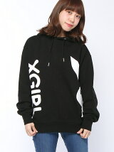 X-girl x PLAY BOY SWEAT HOODIE