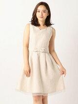 花柄ジャガードドドレス
