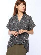 (L)プリントタックシャツ