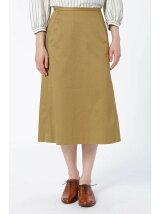 コットンチノ台形スカート