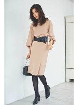 [WEB限定]Wクロスタイトスカート