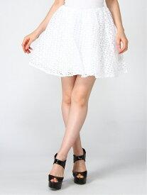 【SALE/93%OFF】DaTuRa レースボリュームスカート パル グループ アウトレット スカート スカートその他 ホワイト