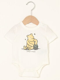 【SALE/24%OFF】GAP (K)Babygap | Disney Winnie The Poohグラフィック ボディシャツ ギャップ マタニティー/ベビー ロンパース/カバーオール ホワイト