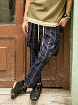 Sinmel suspenders pants