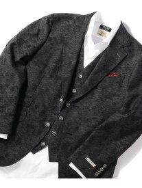 MEN'S BIGI 【Leggiuno(レジウノ)社】テーラードジャケット メンズ ビギ コート/ジャケット テーラードジャケット ブラック【送料無料】