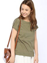 (W)オーガニックコットンTシャツ半袖