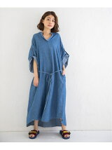cotton linen denim shirring shir