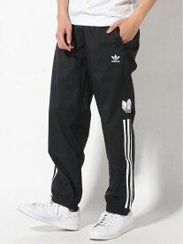 adidas Originals アディカラー 3Dトレフォイル 3ストライプ トラックパンツ(ジャージ) [3D TF 3 STRP TRACK PANTS] アディダスオリジナルス アディダス パンツ/ジーンズ パンツその他 ブラック ブルー【送料無料】